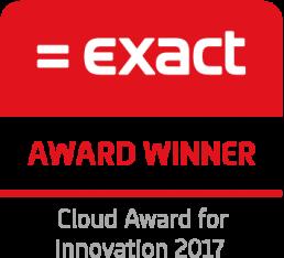 Exact Online Award winner 2017